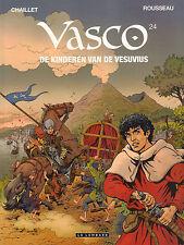 VASCO 24 - DE KINDEREN VAN DE VESUVIUS - Chaillet/Rousseau