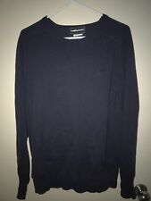The Hundreds Crewneck Sweater Embroidered Adam Bomb Men's Large Cotton/Cashmere