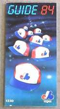 1984 MONTREAL EXPOS MEDIA GUIDE