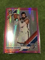 Steven Adams 2019-20 Optic Donruss - Hyper Pink Prizm - OKC Thunder #123