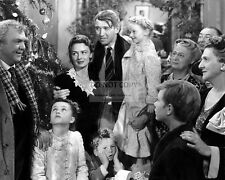 "JAMES STEWART DONNA REED ""IT'S A WONDERFUL LIFE"" - 8X10 PUBLICITY PHOTO (BB-721)"