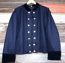 civil war union reenactor officers double breasted shell jacket 52