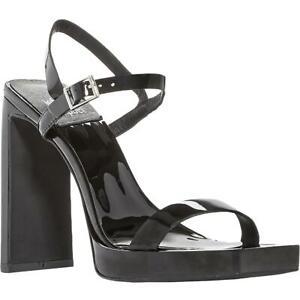 Jeffrey Campbell Womens Danceria 2 Black Heel Sandals  9 Medium (B,M) BHFO 0247