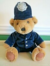 "Harrods Police Teddy Bear Knightsbridge London Stuffed 12"" Plush Toy"