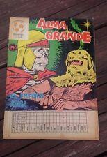 """VTG 1973 MEXICAN COMIC ALMA GRANDE No. 611 """"EL ENEMIGO ATACA"""" ED. HERRERIAS"""