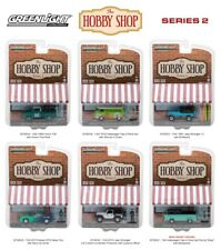THE HOBBY SHOP SERIES 2, SET OF 6 CARS 1/64 DIECAST MODELS BY GREENLIGHT 97020