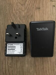 2 TalkTalk Power Line Adaptors. Network Connection Kit. D-Link. DHP-300 AV.