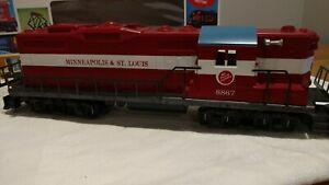 Lionel 6-8867. Minneapolis & St. Louis GP-9 (NON-POWERED DUMMY UNIT) NIOB 1978.