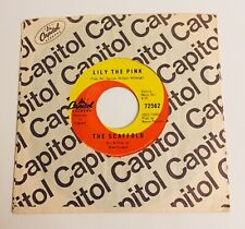 The Scaffold with Elton John & Graham Nash / Lily The Pink / Canada 45 / VG+++