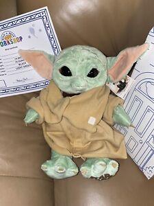 Disney Build A Bear Star Wars The Mandalorian The Child Baby Yoda 5 in 1 IN HAND