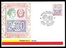Italy 2004: High values Euro 2,80 - Official Postcard Poste Italiane