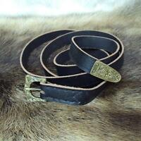 Viking Styled Medieval Leather Belt Perfect for Re-enactment Costume Stage LARP#