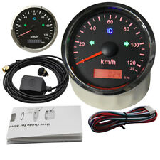 0-125Km/h 85mm GPS Speedometer Odometer Gauge for Car Truck Boat ATV Motorcycle
