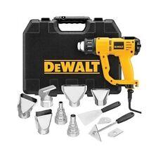DeWalt Heat Gun Electric Power Tool Kit LCD Screen Heavy Duty Hot Air 1550W New