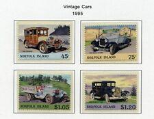 NORFOLK ISLAND   MNH    569-72   Vintage Cars     XD731