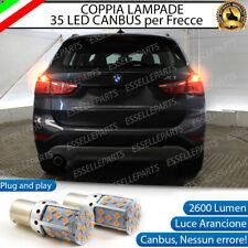COPPIA LAMPADE P21W BA15S CANBUS 35 LED BMW X1 F48 FRECCE POSTERIORI NO AVARIA