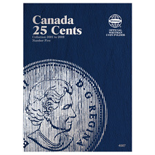 """WHITMAN"" CANADA 25 CENTS 2001 #5 FOLDER NEW WITH FREE SHIPPING!!"