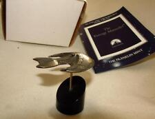 Star Trek Franklin Mint Ferengi Marauder Solid Sterling Silver Starship RARE!