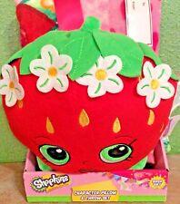 Shopkins Character Pillow & Throw Set Strawberry Kiss SUPER SOFT New