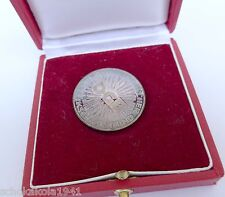 Silbermedaille 900 --50 Jahre Mitgliedschaft im ÖGB-- im Etui