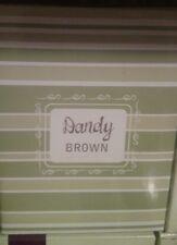 """Scentsy """"Dandy Brown"""" Plug In Warmer - NIB"""