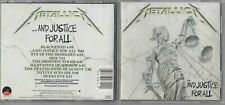 Metallica - ...And Justice for All  (CD, Sep-1988, Elektra (Label)) EARLY PRESS