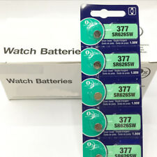 5X 1.55V Oxide Cell Button-type Watch Batteries For Sony 377 SR626SW V377 SR66 #
