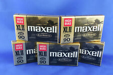 One Maxell XL II 90 Audio Cassette High Bias CD 90 minutes