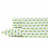 Pineapples 200 Thread Count Sheet Set by Poppy & Fritz