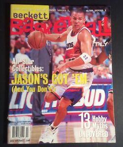 Beckett Basketball Card Monthly Febuary 1998 #91 Jason's Kidd Cover