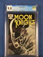 MARVEL COMICS CGC 9.8 MOON KNIGHT 17 3/82 WHITE PAGES