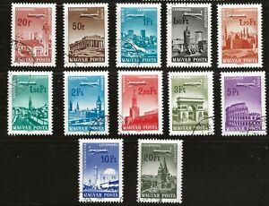 Hungary (1966) - Scott # C262 - C274,  Used