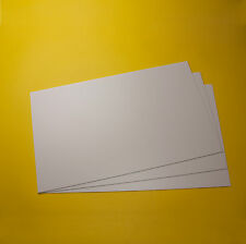 3  Polystyrol Platten weiss  320x200x1mm PS Platten weiß Modellbau