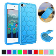 For Apple iPod Touch 7th Gen Kids Friendly Silicone Protective Back Case Cover