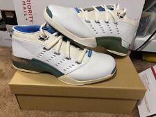 Original Air Jordan 17 XVII Low White University Blue Size 11