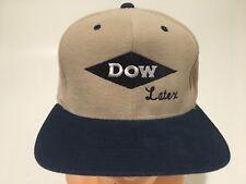 Vtg Dow Latex Pesticide Farmer America Trucker Hat Snapback Vintage Rare 80s Usa