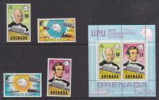Grenada Grenadines 1979 UPU set and mini sheet MNH