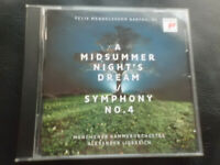 Felix Mendelssohn Bartholdy - A Midsummer Night`s Dream ,ALEXANDER LIEBREIch ,CD