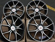 "ALLOY WHEELS X 4 18"" BMF 5 TWIN FOR 5X112 MERCEDES A B C E M R CLASS CLA GLA"