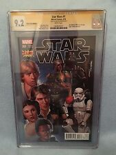 Star Wars #1 Zapp Variant (March 2015, Marvel) CGC SS 9.2 SIGNED Mike Mayhew