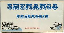 US ARMY CORP OF ENGINEERS SHENANGO RESERVOIR PENNSYLVANIA MAP 1970 VINTAGE