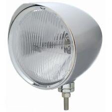 "UNITED PACIFIC ""CHOPPER"" Headlight w/ Razor Visor - H4 Bulb 32533"