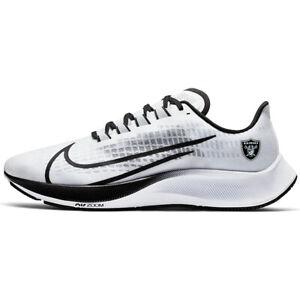 New 2020 Las Vegas Raiders Nike Unisex Zoom Pegasus 37 Running Training Shoes