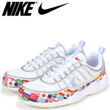 c23dc3d53d1edb Nike Zoom Spiridon 16 NIC QS White Iridescent Multicolor One World Cup Flag  9.5