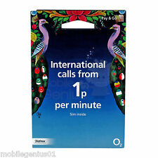 O2 PAYG International Triple SIM card - nano/micro/standard PAY As You Go