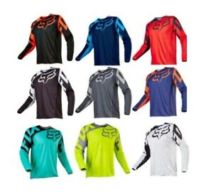 FOX Men Riding Jersey Long Sleeve T-shirts Motocross/MX/ATV/BMX/MTB Dirt Bike