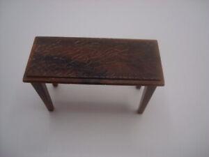 Vintage RENWAL Dollhouse PIANO BENCH #L 75