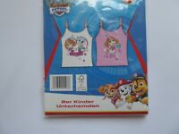 Paw Patrol Mädchen Unterhemden Top 2er Pack Gr. 122 / 128
