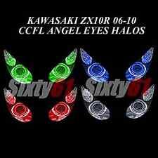 Kawasaki ZX10R 2006-2010 CCFL Demon Angel Eyes Halo lights rings kit