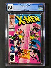 Uncanny X-Men #208 CGC 9.6 (1986) - Hellfire & Nimrod app
